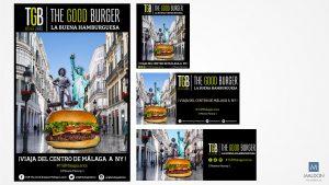 Estrategia Social Media Marketing TGB Málaga Larios Obras cartel